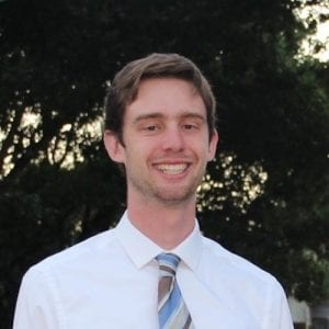 Chandler Ross, alumni events and outreach team
